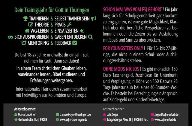 Bewerbung – Cvjm Erfurt E.V.